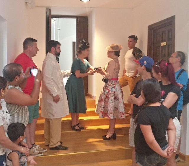 Victorio Macho Rodajes y Rutas teatralizadas Ana Rueda Eventos